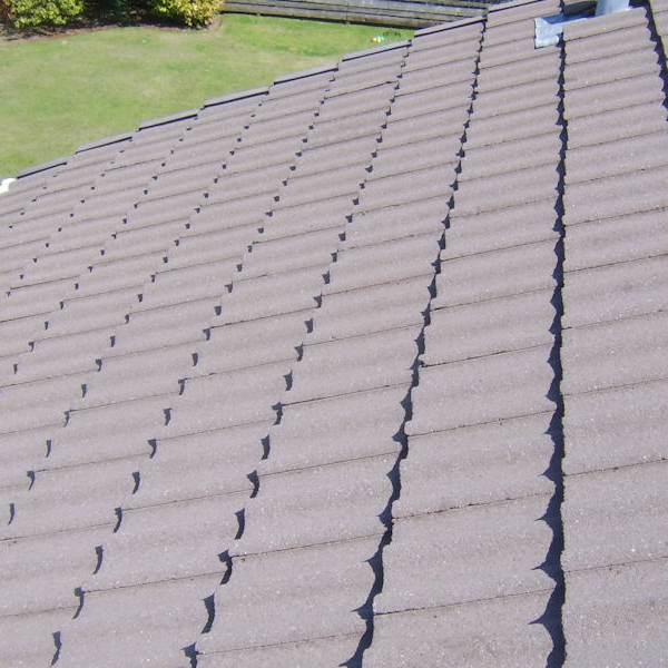 Roof cleaning and roof coating